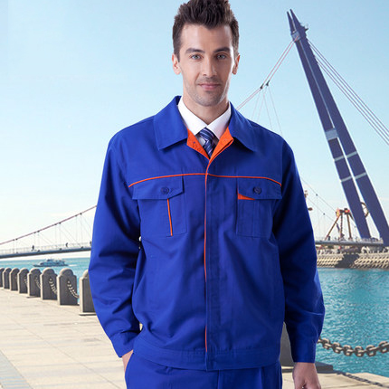 ФОТО FREE SHIPPING Set of coat+pants  spring and autumn work wear long-sleeve male set tooling uniform workwear a-002