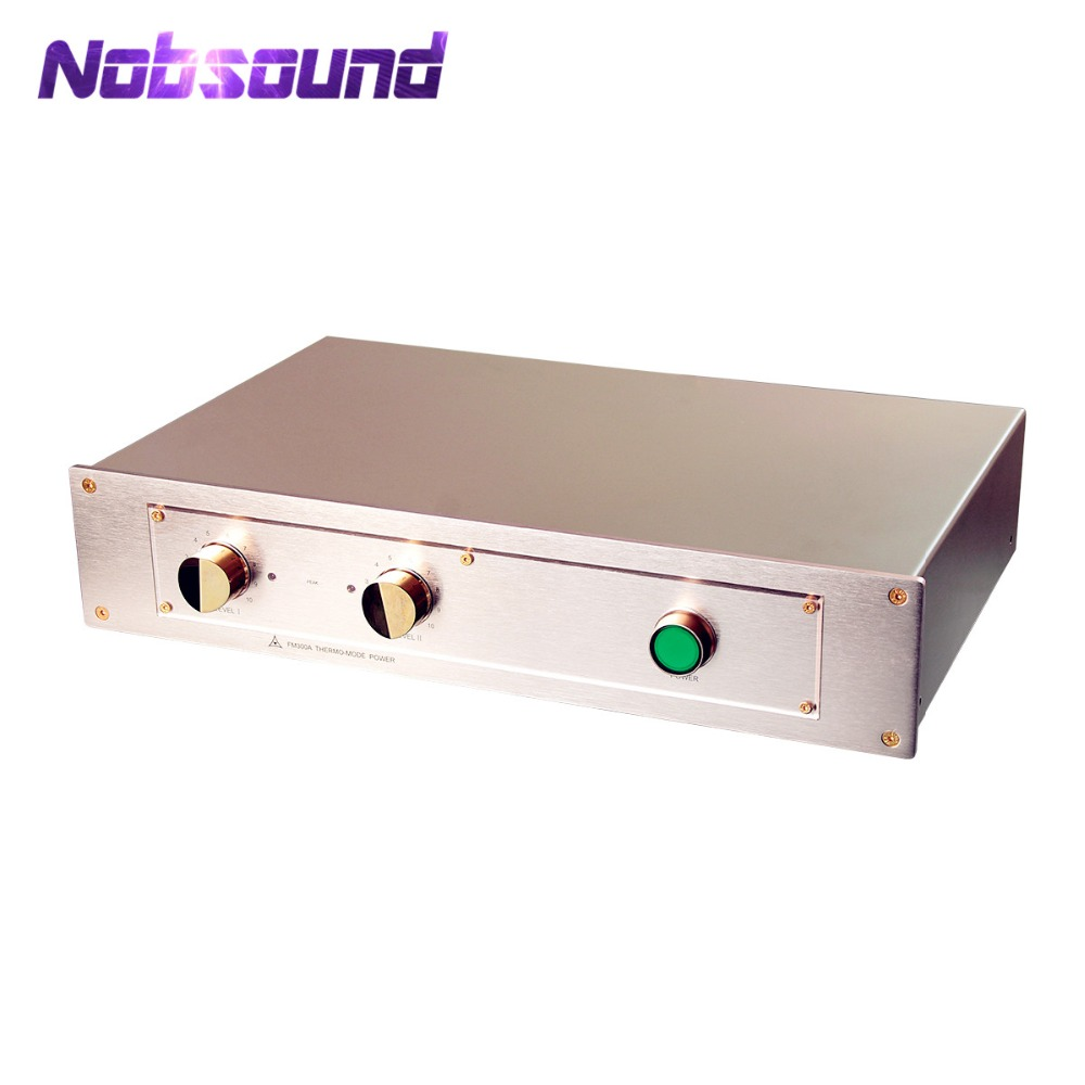 Nobsound Hi-End Gold Classis Power Amplifier HiFi Stereo 2.0 Channel Amp 150W*2 Inspired By FM ACOUSTICS FM300A цена и фото
