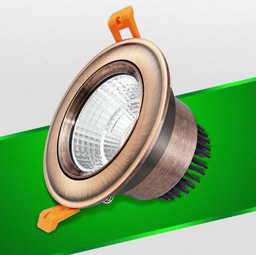 Бесплатная доставка 15 Вт dimmable потолочные Подпушка света Встраиваемые COB светодиодные лампы освещения led Подпушка легкий и теплый холодный б...