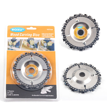 4 Inch GRINDER DISC and Chain 22 Tooth Fine Cut Set For 100/115 Angle Grin 5/8 center hole Grinder