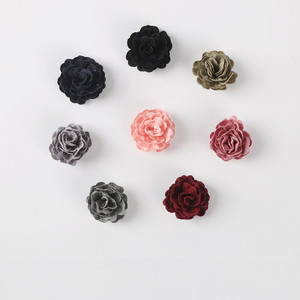 20 PCS 35mm Cloth Flowers Conn