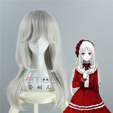 K Kushina Anna Missing Kings Cosplay Wig Long Hair Halloween Role Play