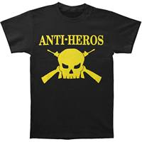 Anti Heros Men S Logo T Shirt Black Casual Plus Size T Shirts Hip Hop Style