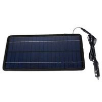 12V 8 5W Monocrystalline Silicon Solar Panel Portable Solar Panel Battery Charger Solar Charger For