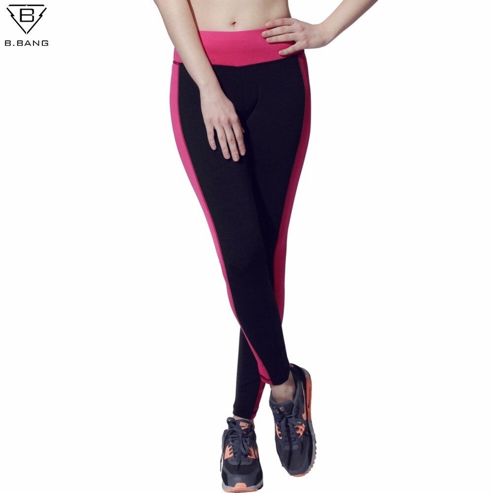 Prix pour B. BANG Fitness Femmes Collants Running Sport Push-Up Élastique Sport Pantalons Femmes Sport Pantalon de Course Pantalon Gym Yoga Leggings