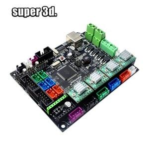 Image 5 - 3D Printer Parts MKS Gen V1.0 Control Board Mega 2560 R3 motherboard RepRap Ramps1.4+A4988/TMC2130/TMC2208/DRV8825 Driver