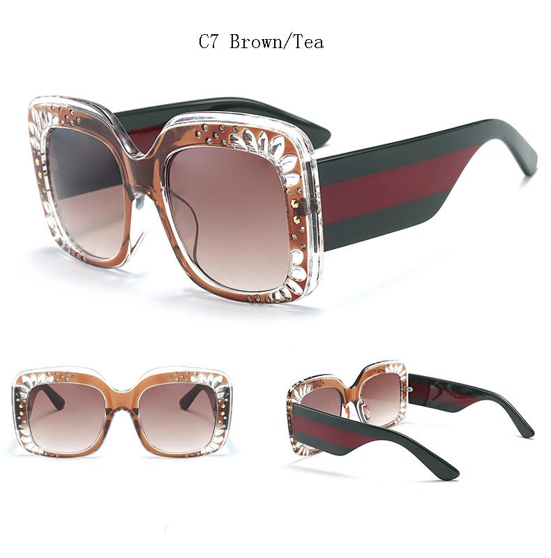 HTB1rVsYblDH8KJjSszcq6zDTFXad - Oversize Square Frame Rhinestone Sunglasses 2018 - Trending Fashion