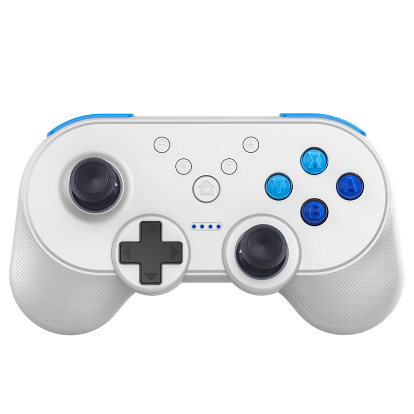 JYS NS Wirless Gmaepad Special Design Switch Bluetooth Game Controller Joystick NFC Dual Vibration Motor for PC Android PhonesJYS NS Wirless Gmaepad Special Design Switch Bluetooth Game Controller Joystick NFC Dual Vibration Motor for PC Android Phones