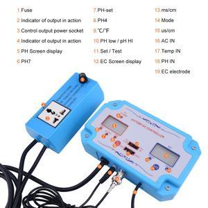 Image 5 - Yieryi 3 ב 1 pH/EC/טמפ מים באיכות גלאי pH בקר ממסר תקע Repleaceable אלקטרודה BNC סוג בדיקה מים Tester
