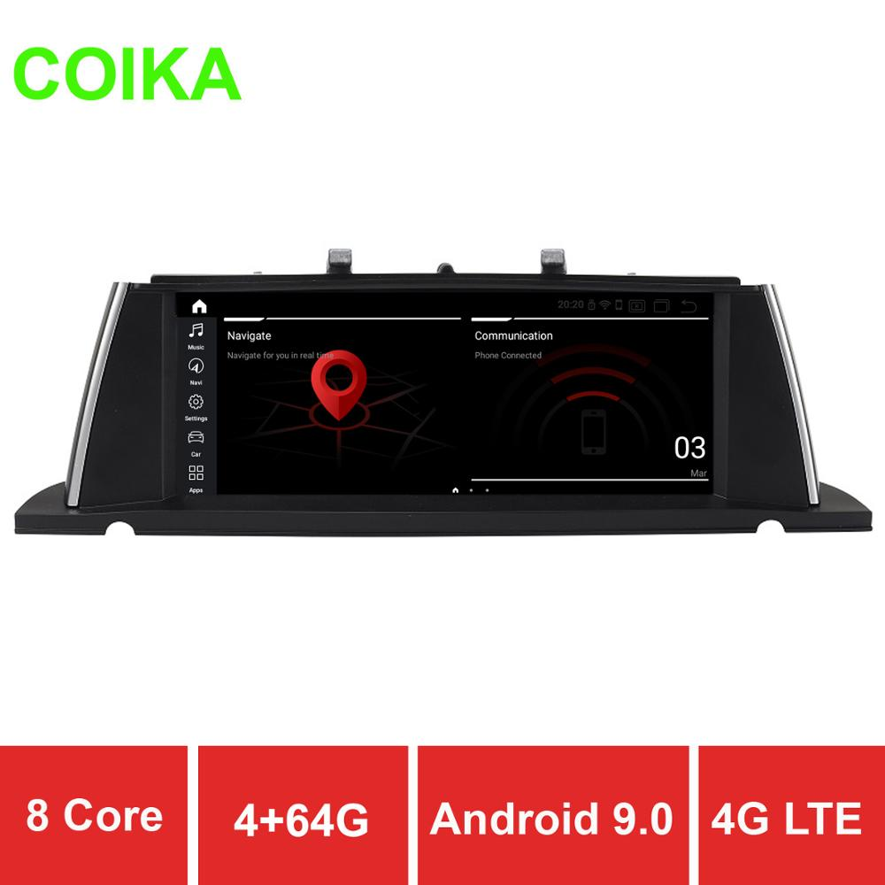 COIKA 4+64G Android 9.0 System Car GPS Navi Receiver For BMW F07 GT 11-17 Multimedia Player BT 8 Core CPU IPS Touch 4G WIFI PIP(China)