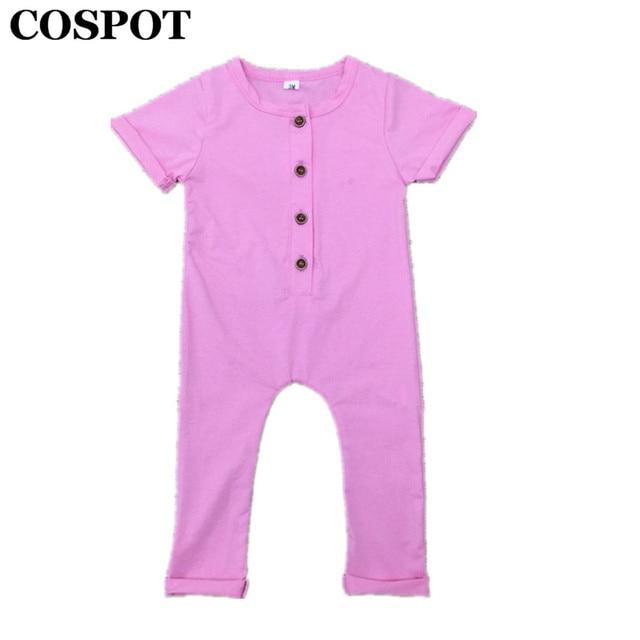 be00b6b9e COSPOT Baby Boys Girls Summer Romper Newborn Cotton Jumpsuit Infant ...