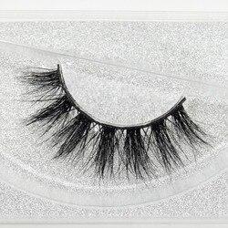 visofree 100% Handmade Eye Lashes 3D Real Mink Makeup Thick Fake False Eyelashes With Glitter Packing D108