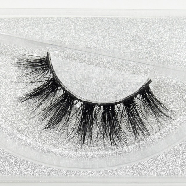 visofree 100% Handmade Eye Lashes 3D Real Mink Makeup Thick Fake False Eyelashes With Glitter Packing D108
