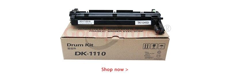 1X DK-1110 фотобарабанное фазирующее устройство для чистки лезвия Вал первичного заряда для Kyocera FS 1020 1025 1120 1125 1220 1320 1325 1060 1061 1040 1041