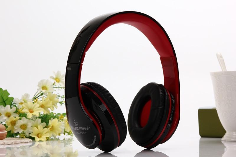 Bluetooth-Stereo-Kopfhörer Kabelgebundene + kabellose Kopfhörer - Tragbares Audio und Video