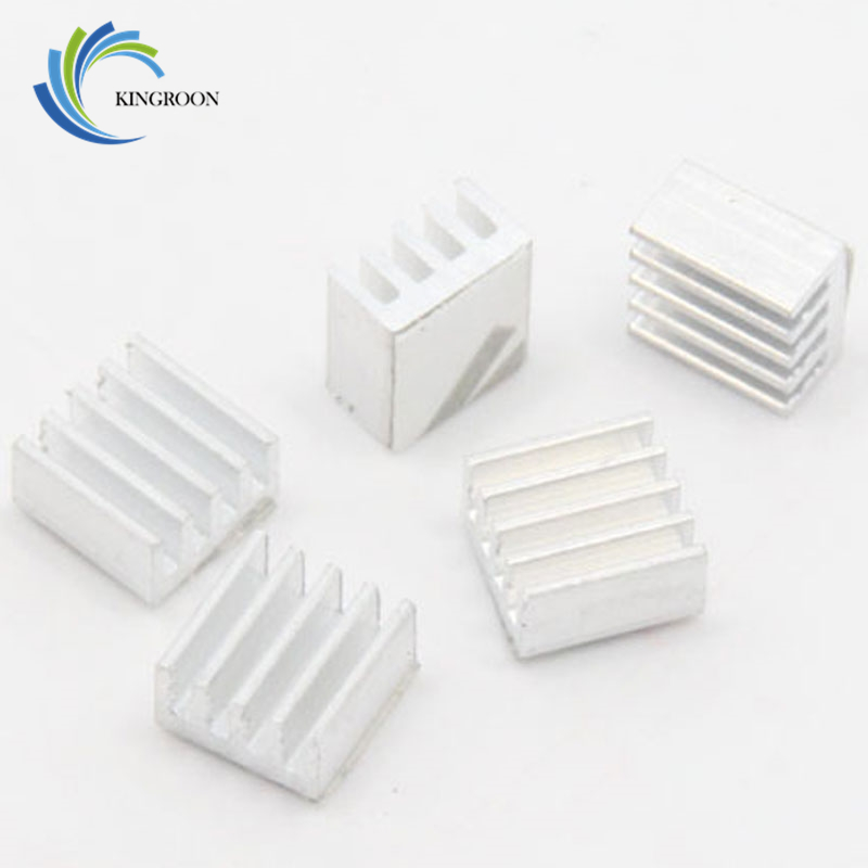 KINGROON Free shipping 10pcs/lot heat sink for A4988 A4983 Stepper Driver free shipping 10pcs 100% new sn75153