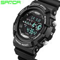 Watches Men SANDA brand LED Digital Watch Army Military Shockproof Outdoor Sport wristwatch relogio masculino clock