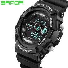 Montres Hommes SANDA marque LED Numérique Montre Armée Militaire Antichoc Sport En Plein Air montre-bracelet relogio masculino horloge