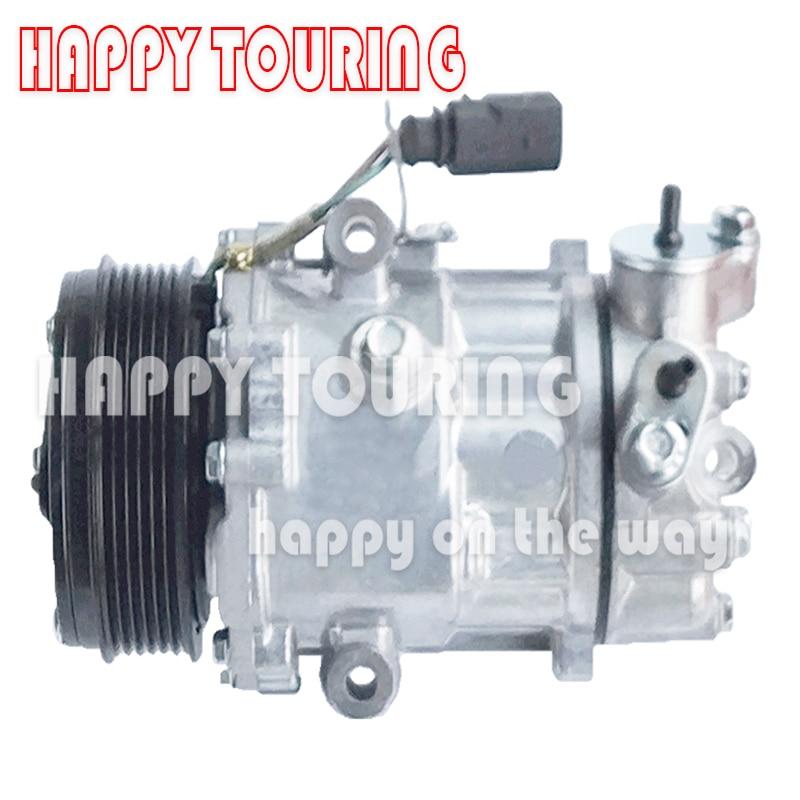 SD6V12 6V12 A/C compresseur AC pour VW Polo UP pour Skoda Citigo 1S0820803C 6RD820803 Sanden 1916 6RD820803 1S0820803A 1152808159