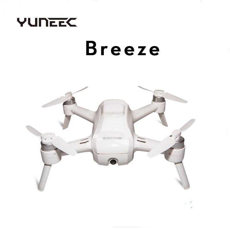 YUNEEC Breeze 4 к селфи Квадрокоптер WiFi fpv с 13MP 4 к HD камера приложение управление радиоуправляемые Квадрокоптеры дроны