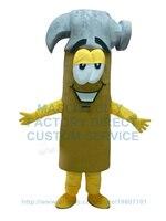 hammer hardware mascot costume tool custom cartoon character cosply adult size carnival costume 3468