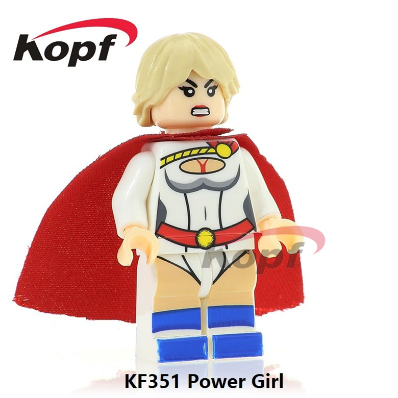 20Pcs KF351 Building Blocks Power Girl Snow Job Sgt. Slaughter Shake Eyes Firefly Super Heroes Model Bricks Chidren Toys Gift