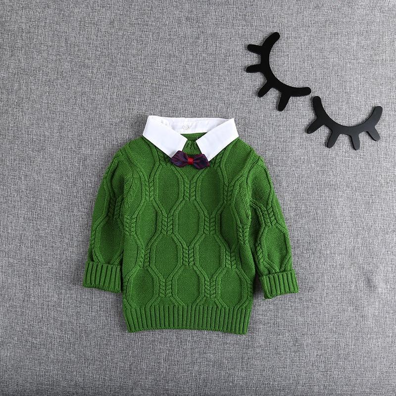 Autumn-Winter-Knitting-Baby-Infants-Knitwear-Long-Sleeve-Gentleman-Knit-Boys-Bow-Sweater-Outwear-Pullover-Camisola-Sweater-S5475-1