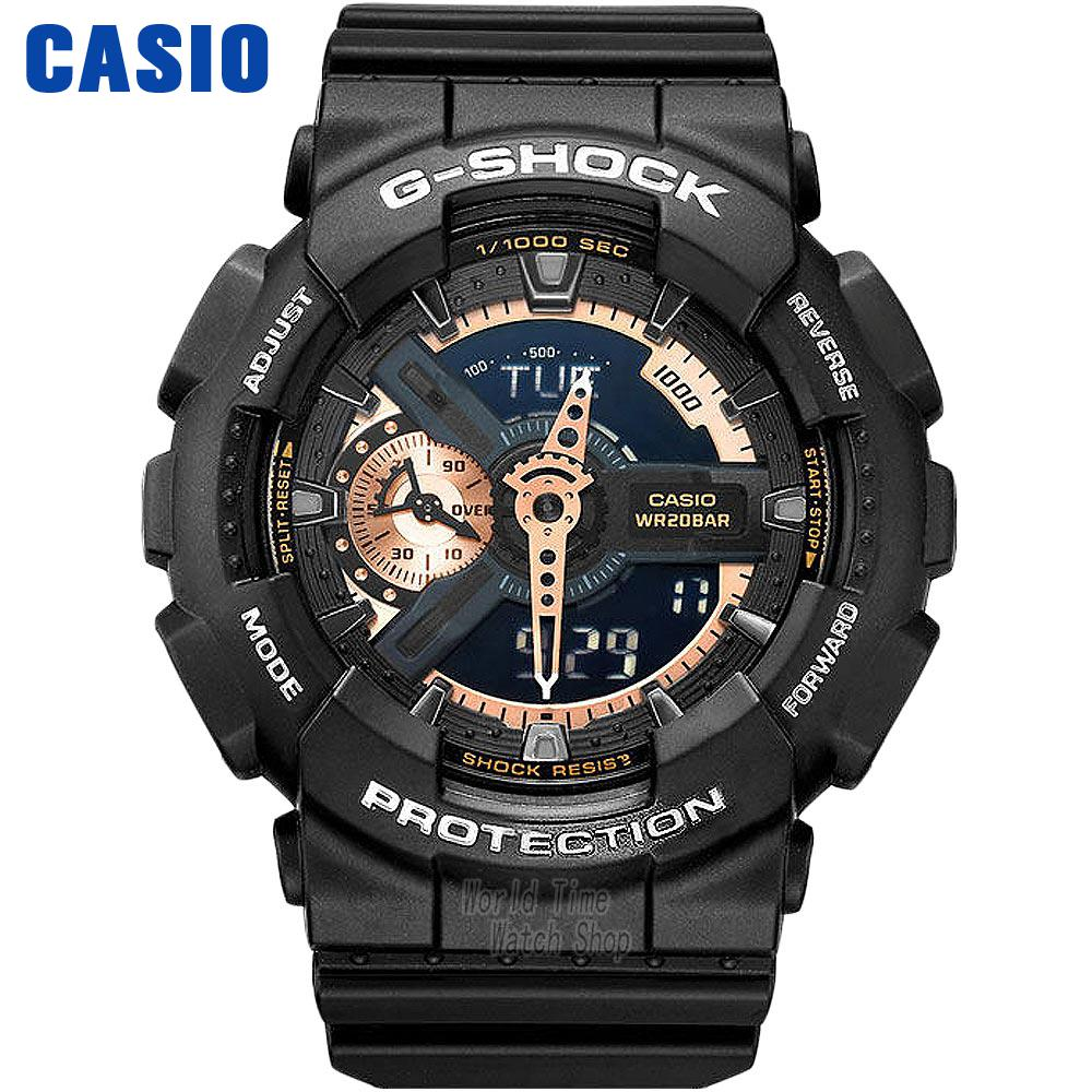Casio watch Casual sports multi - functional men 's watch waterproof time watch GA-110RG-1A GA-110RG-7A casio ga 110rg 1a