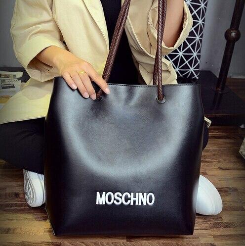 ФОТО New Fashion Luxury Brand bag women's pu leather shoulder bags handbags big casula tote vintage european bag