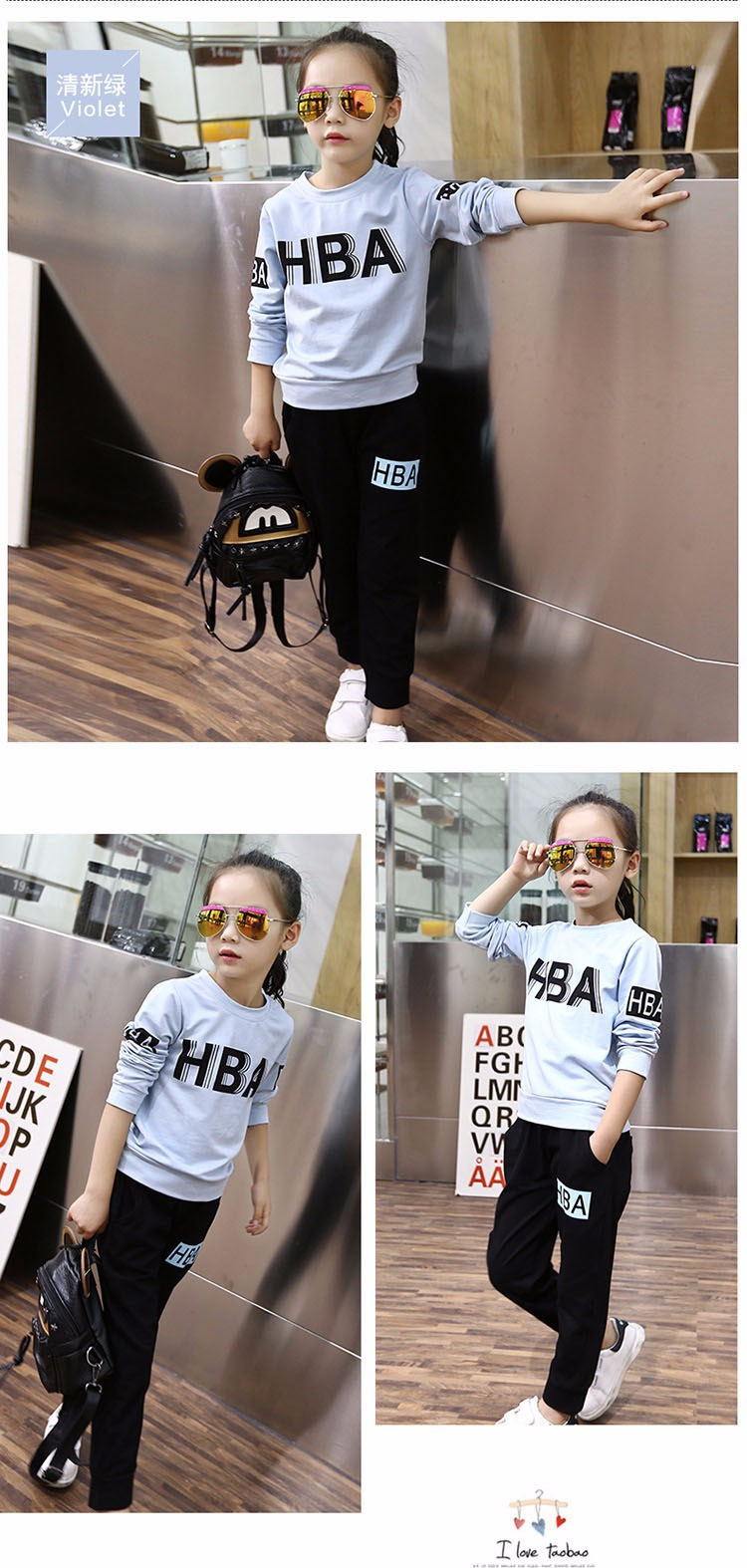 little teenage girls clothes sports suits girls outfits tracksuit autumn spring letters tops t shirts black pants tracksuits girls sets 5 6 7 8 9 10 11 12 13 14 15 16 years old little big teenage girl children sport sets clothing set for gir (4)