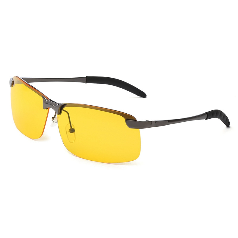 Driving Sunglasses Night-Vision Night-Reflected Men Protection Strong-Light Safe AT Professional