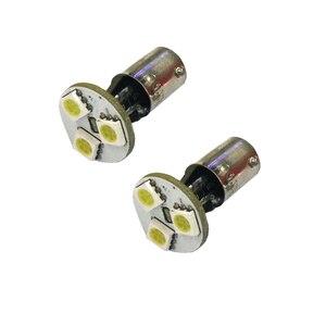 Image 4 - 10Pcs BA9S LED 5050 3SMD 12V 6000K Car Light White Small Lights In wide light meter light