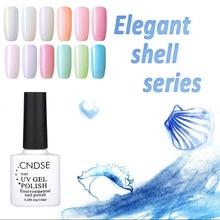 10ML Fashion Shell Series Pearl Nail Gel Polish UV Gel Nail Polish DIY UV Gel Glue Nail Art Decorations