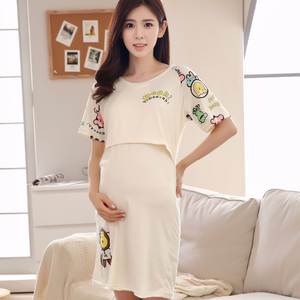 b8d7a8e604c68 vivekbaby breastfeeding nightgowns for nursing maternity