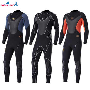 Full-body Men 3mm Neoprene Wetsuit Surfing Swimming Diving Suit Triathlon Wet Suit for Cold Water Scuba Snorkeling Spearfishing - DISCOUNT ITEM  40% OFF All Category