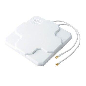 698-2690 MHz 4G LTE 18dbi antena de alta ganancia de la antena al aire libre doble Panel Mimo SMA antena externa signo masculino refuerzo