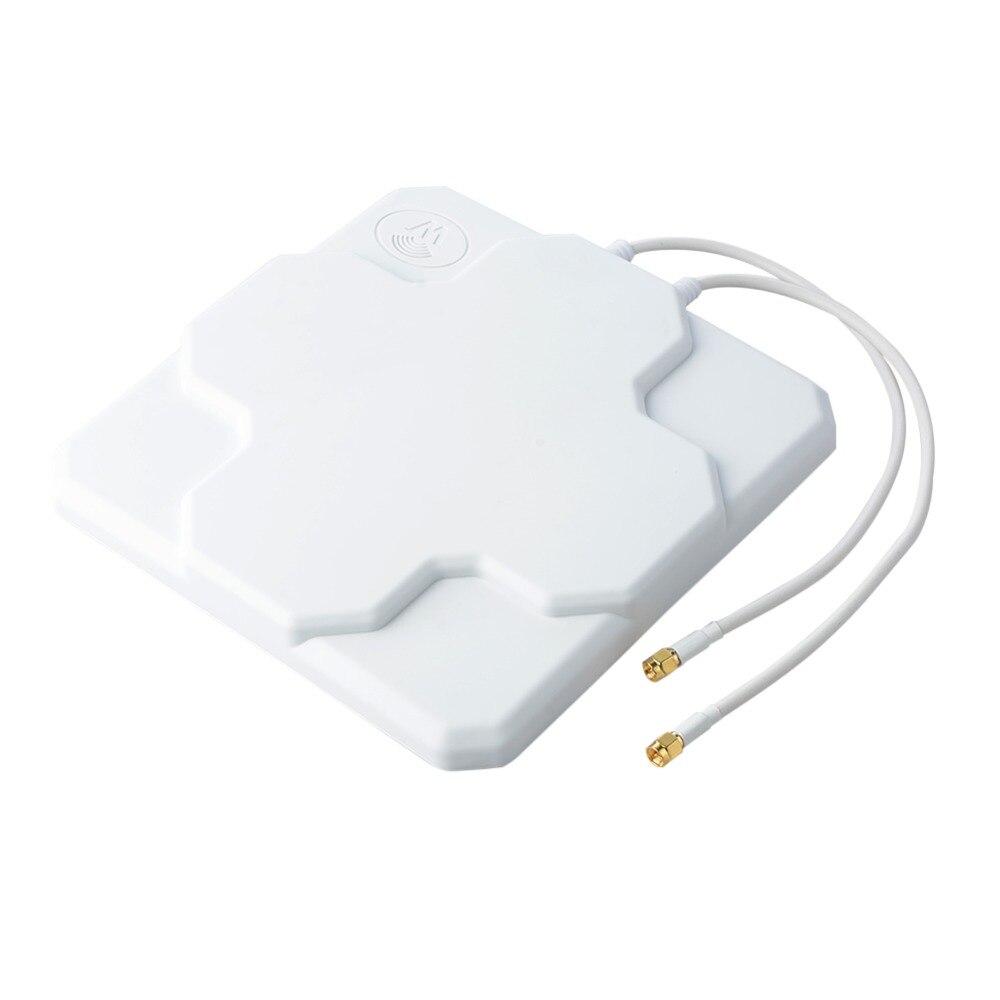 698-2690 mhz 4g LTE 18dbi Antenne High Gain Antenne Im Freien Dual Panel Mimo SMA Antenne Antenne Externe männlichen Zeichen Verstärkung