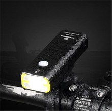 ROCKBROS Cycling Riding Flashlight Rechargeable Bicycle Light Waterproof Bike Headlight MTB Front Lamp Accessories