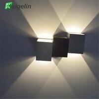 Kaigelin Inovador 6 W LEVOU para Cima E Para Baixo de Iluminação Da Lâmpada de Parede interior Decorativa Luz Das Escadas Lâmpada AC 85-265 V Quente Branco Natureza branco