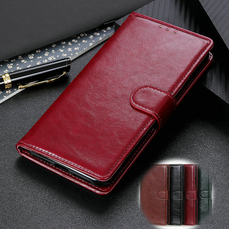 Bags for Samsung Galaxy S10 5G S10e Plus Luxury Leather Card Slots Stand Case for Samsung S9 S8 S10 Plus M10 M20 Book Flip Cover in Wallet Cases from Cellphones Telecommunications