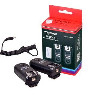 Image 5 - YONGNUO RF 603 II C1 RF603II C1 Kablosuz Flaş Tetik 2 Vericiler için Canon 70D 60D 650D 700D 600D 550D 450D 100D 1100D