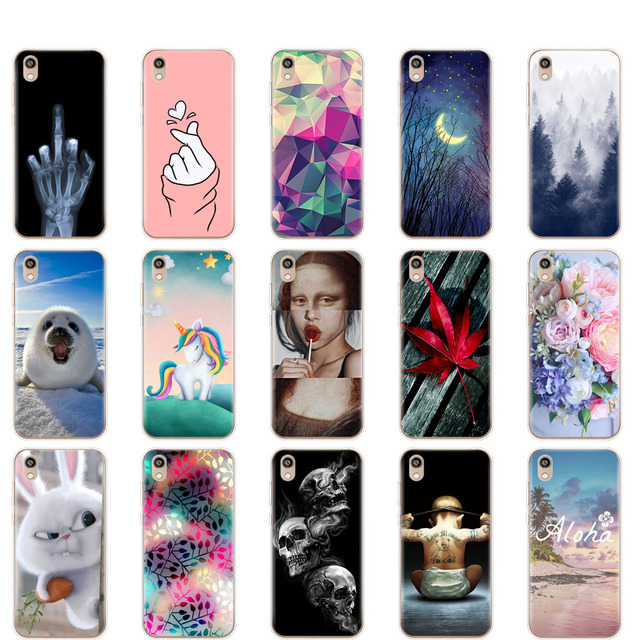 Silicone Case on Honor 8S Silicone Soft TPU Phone For Huawei Honor 8S KSE-LX9 Honor8S 8 S Case Back Cover 5.71'' coque bumper