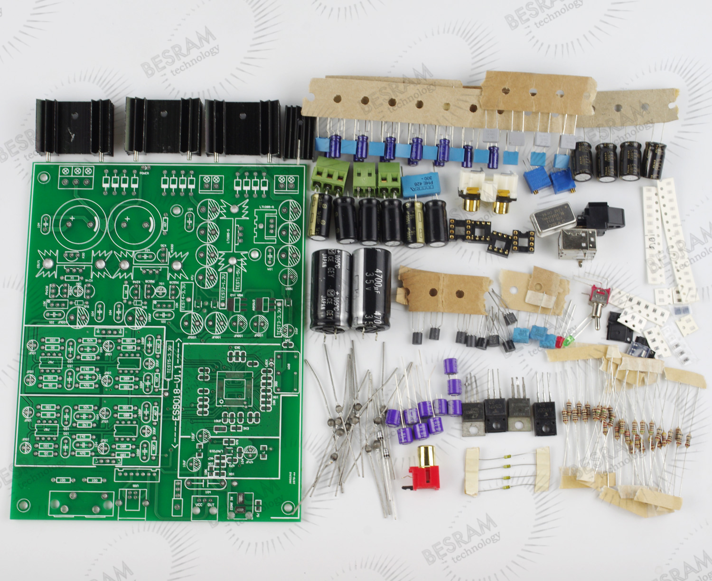 ES9018 DAC 192K 32BIT Kit Can match XMOS Decorder with IC
