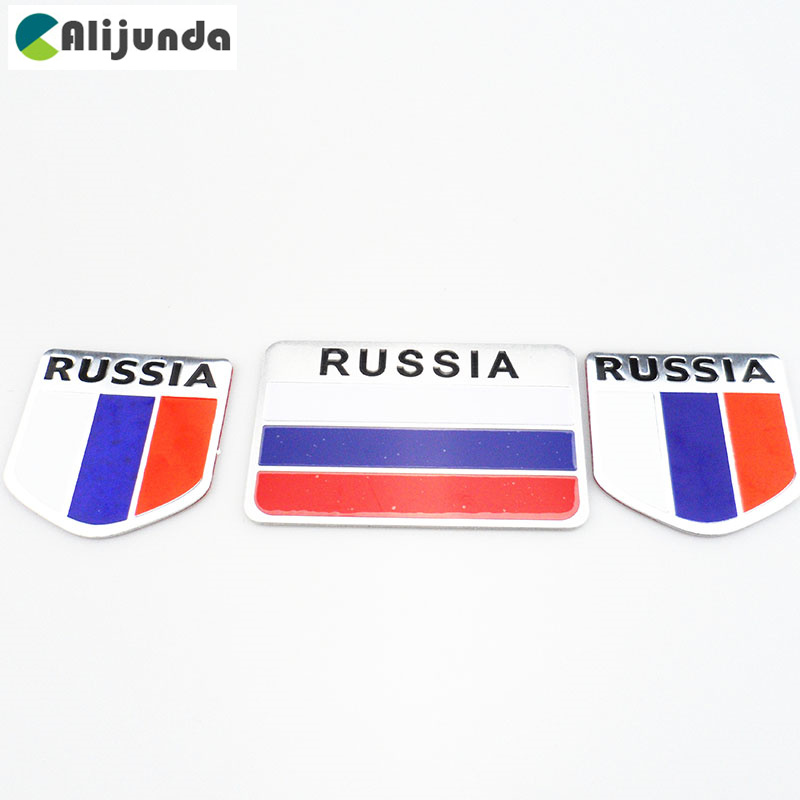 Logotipo de la bandera 3d de la etiqueta engomada del coche de Rusia de la alta calidad, etiqueta engomada de la etiqueta accesorios para Infiniti FX Serie Q-Serie QX serie Coupe EX37 EX2 AirBag Cable de alambre reparación Cable de alambre de 8200216459 de 8200216454, 8200216462 para Renault Megane II Megane 2 Coupe romper