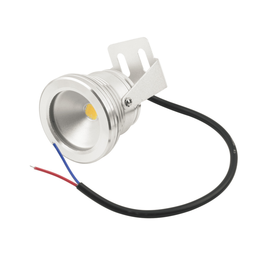1 Pc white color Case 10W  LED Flood Wash Pool rainproof Light Spot Lamp 12V Outdoor