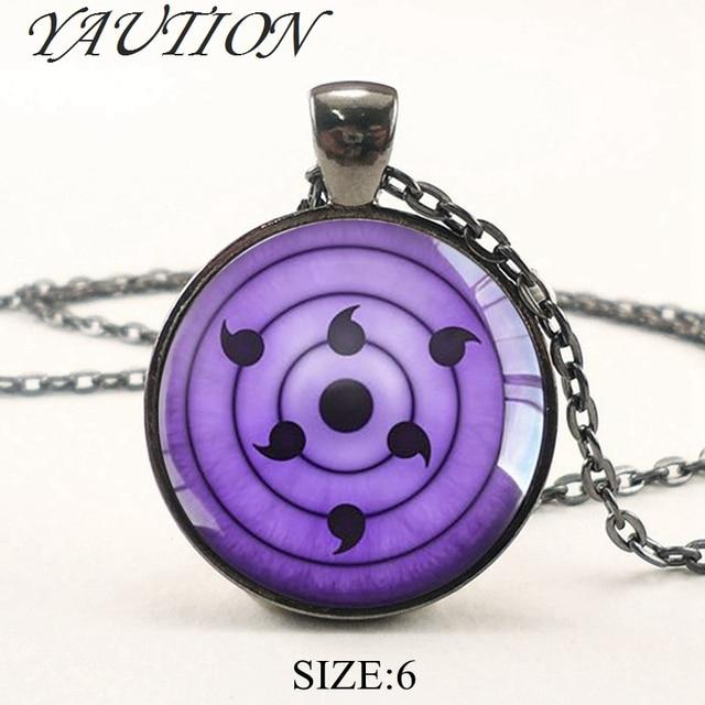 Naruto Pendant Glass Dome Necklace