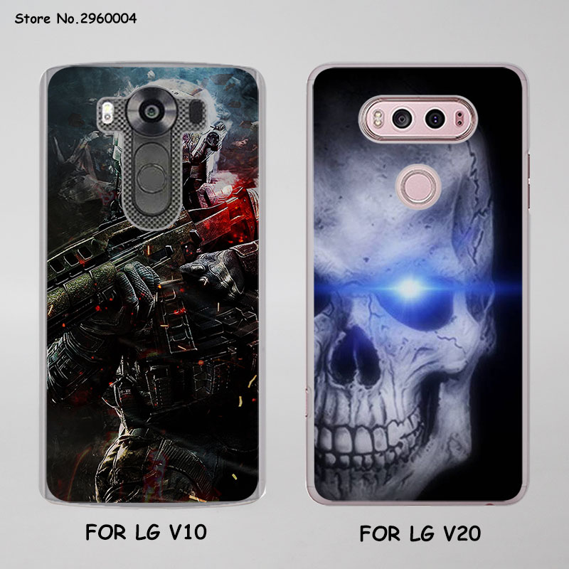 cool Call of Duty Superheroes Style Thin transparent phone shell Case for LG G6 G5 G4 K8 2017 K10 2017 K5