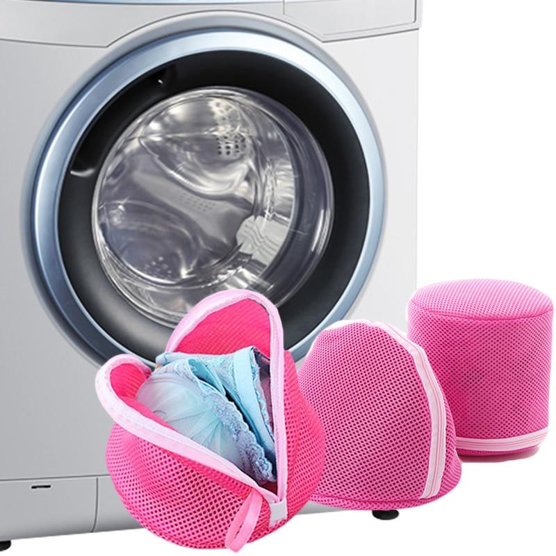 Clothes Washing Machine Laundry Bra Aid Lingerie Mesh Net Washing Bag Pouch Basket Bra Underwear Women Intimates