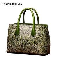 2018 новый улучшенный натуральной кожи Сумки классический дизайн стороны тиснение Топ кожаная сумка женская Сумки натуральная кожа сумка