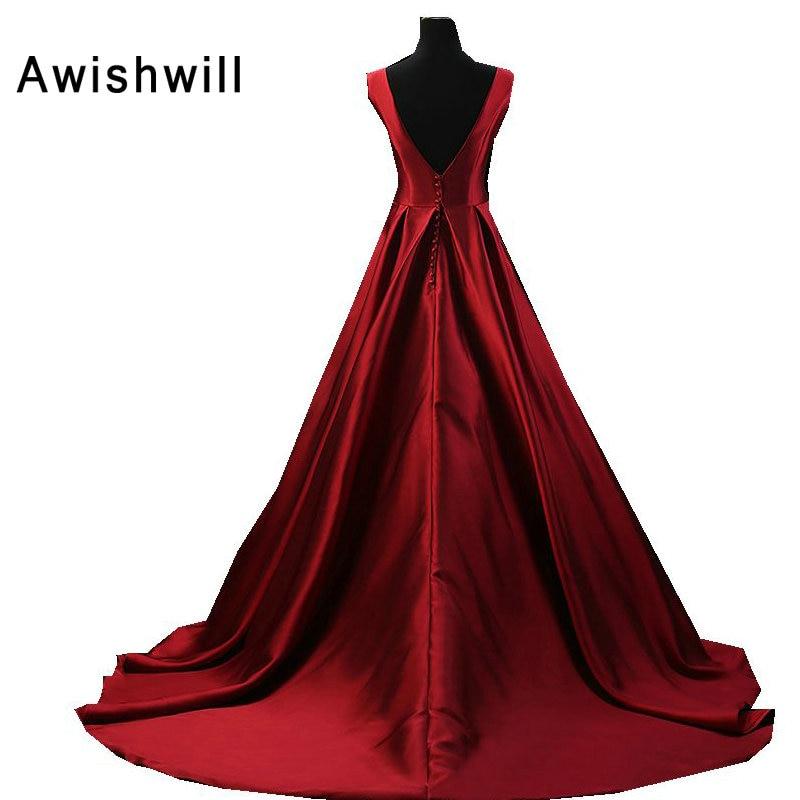 Vestido Longo de Festa Para Casamento Αμάνικο αμάνικο - Ειδικές φορέματα περίπτωσης - Φωτογραφία 3